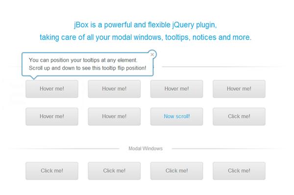 在网站开发中很有用的8个 jQuery 效果【附源码】